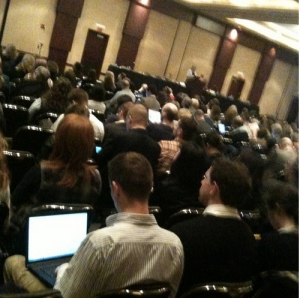 Opening Plenary at MW2011, by Kristen Purcell, Pew Research Center
