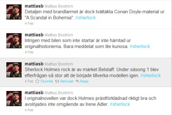 Tweets by Mattias Boström, @mattiasb