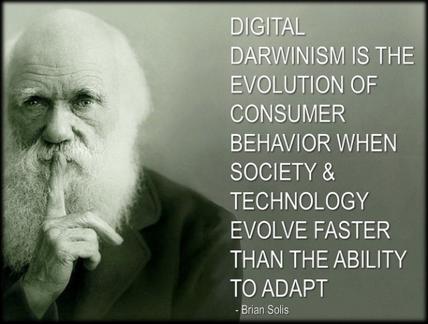 Digital Darwinism, by Brian Solis. CC-BY